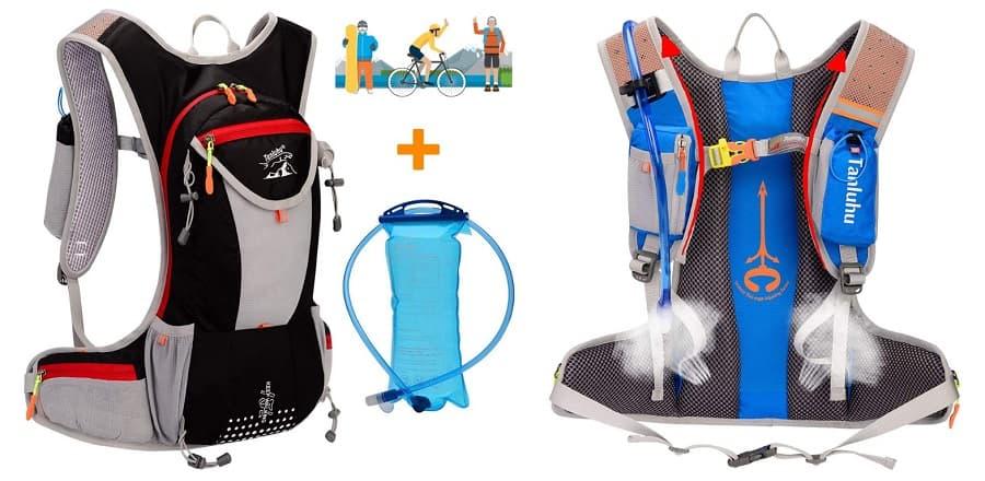 Mochila Ciclismo WLZP bolsa agua accesoriosdebicicleta