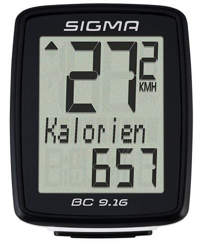 Cuentakilometros Sigma 09160 accesoriosdebicicleta