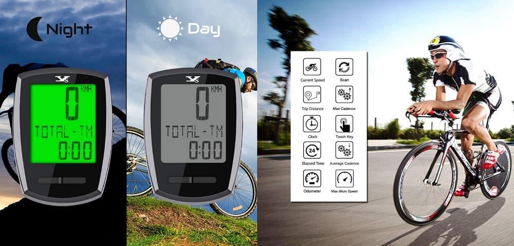 KASTEWILL Cuentakilómetros inalámbrico accesoriosdebicicleta