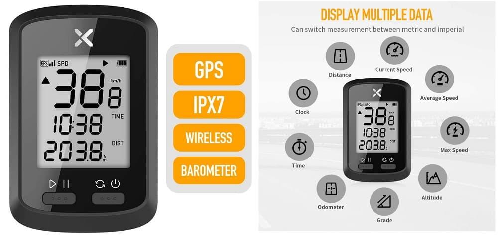 Ordenador Inalámbrico XOSS G GPS accesoriosdebicicleta