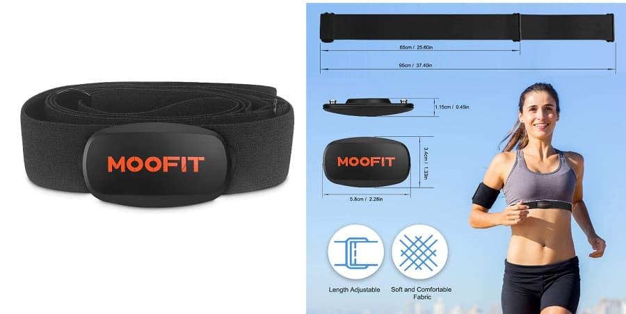 Sensor de frecuencia cardíaca Moofit accesoriosdebicicletas