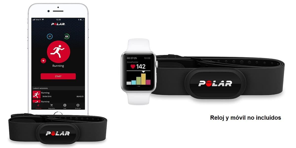 Sensor de frecuencia cardíaca Polar H10 accesoriosdebicicletas