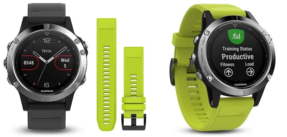 Smartwatch Garmin Fenix 5 web accesoriosdebicicletas