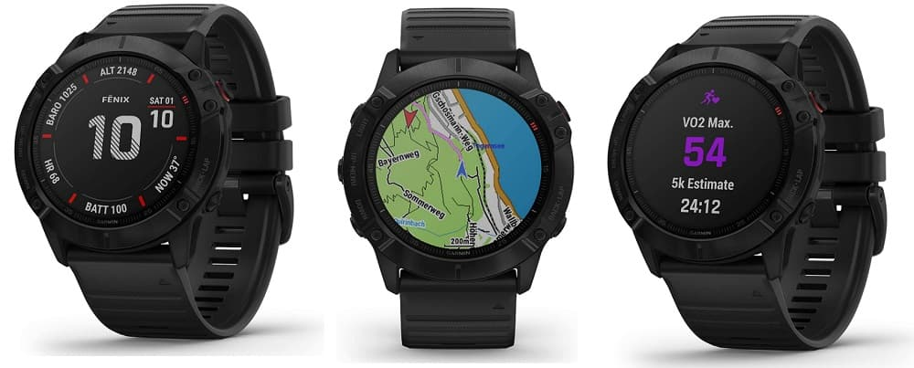 Smartwatch Garmin fēnix __6X PRO accesoriosdebicicletas