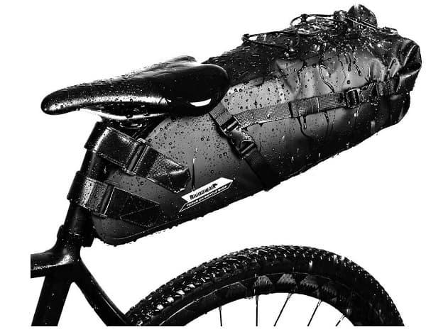 Bolsa de sillín Gardom de 10L impermeable accesoriosdebicicleta